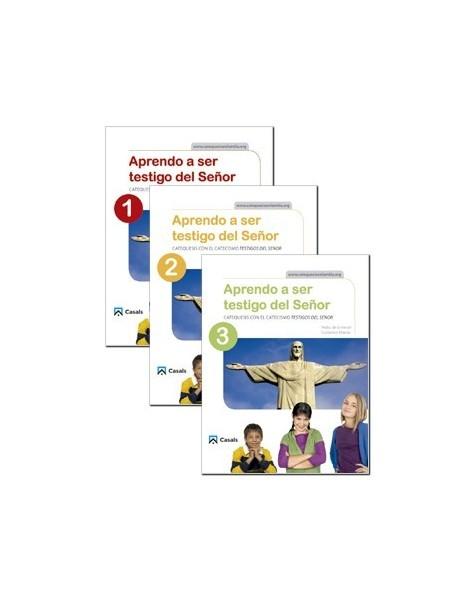 APRENDO A SER TESTIGOS DEL SEÑOR 1-2-3