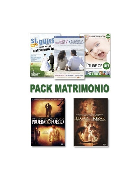 Pack películas Matrimonio