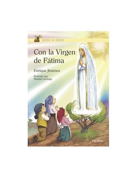 Con la Virgen de Fátima