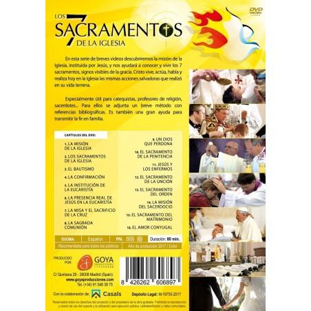 Los 7 sacramentos de la Iglesia