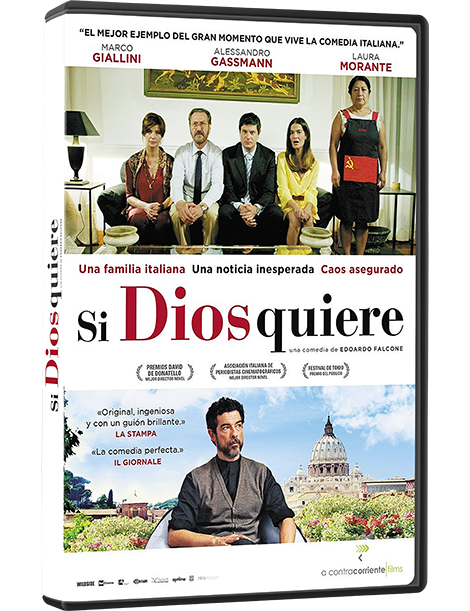 Película en DVD SI DIOS QUIERE