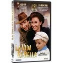 La Vida es Bella DVD película con valores recomendada