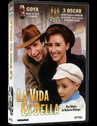 Película en DVD LA VIDA ES BELLA