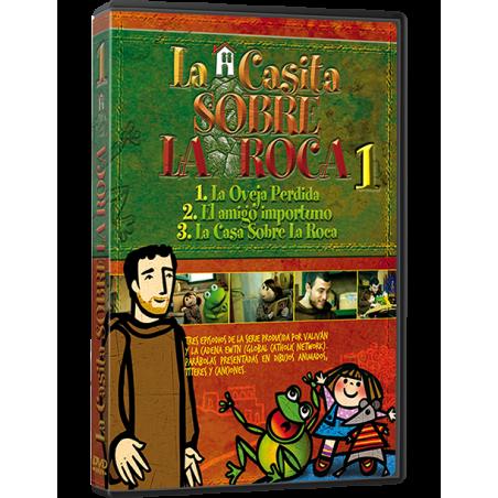 La Casita sobre la Roca 1 DVD - Dibujos animados