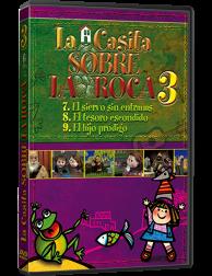La Casita sobre la Roca 3 DVD - Dibujos animados