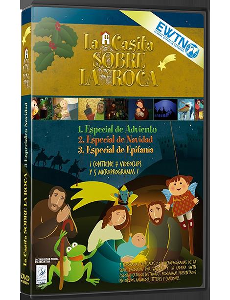 Serie dibujos  DVD ESPECIAL NAVIDAD: La Casita sobre la Roca.