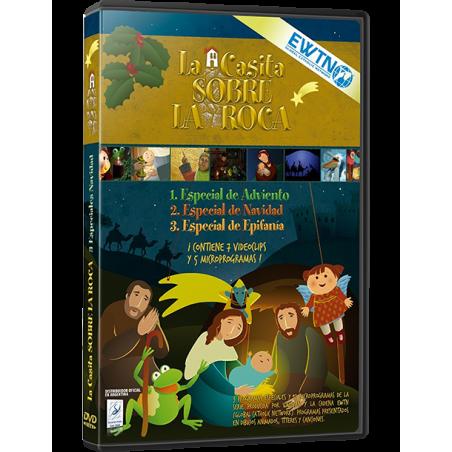 ESPECIAL NAVIDAD: La Casita sobre la Roca DVD dibujos animados