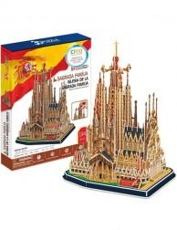 PUZZLE 3D SAGRADA FAMILIA DE BARCELONA (194 PIEZAS)
