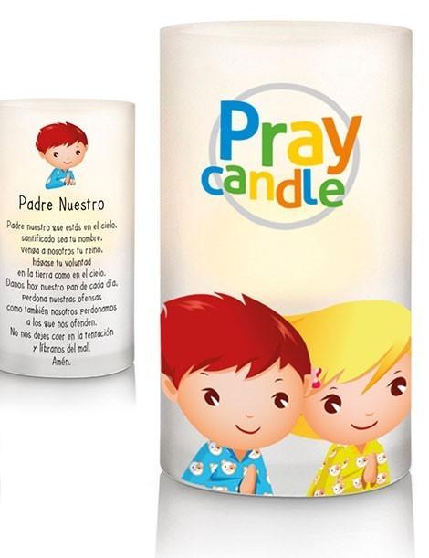 Pray candle Vela led para rezar