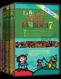 Pack completo: La Casita sobre la Roca DVD - Dibujos animados