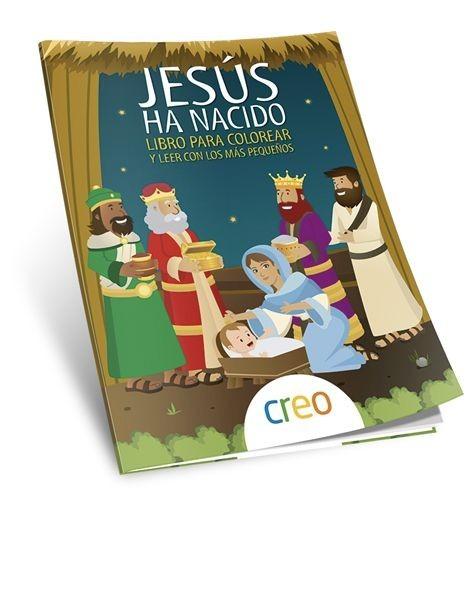 Jesús ha nacido. Libro para colorear