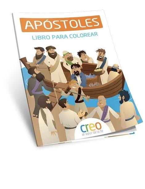Apóstoles. Libro para colorear