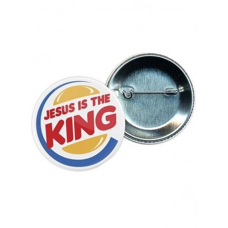 Jesus Is The King badge