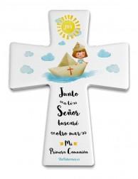 Cruz Junto a ti, Señor (Niña). Primera Comunión
