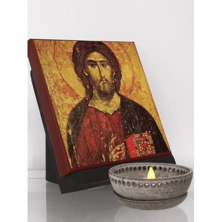 Classic Icon of Jesus (Pantocrator)