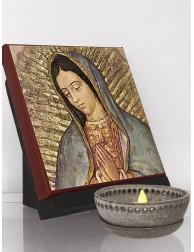Icono clásico de la Guadalupana