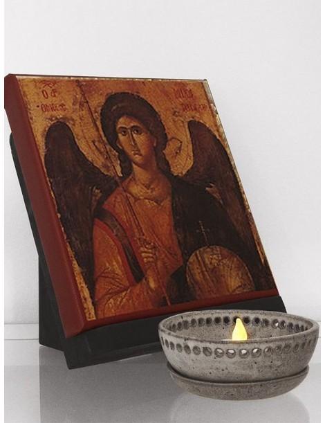 Icono clásico del arcángel san Miguel