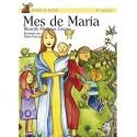 Mes de María LIBRO religioso para niños