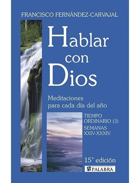 Hablar con Dios: Tiempo ordinario 3 LIBRO