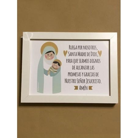 Cuadro - Ruega por nosotros Santa Madre de Dios