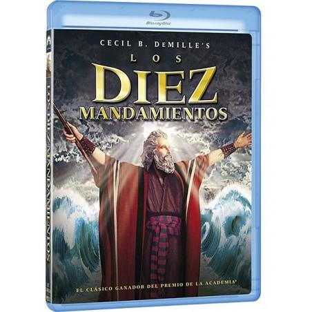 Los Diez Mandamientos - Película (Blu-Ray)