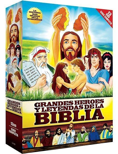 Grandes Héroes y Leyendas de La Biblia (Pack