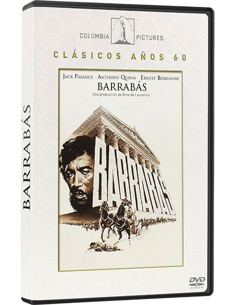 Barrabás DVD película recomendada