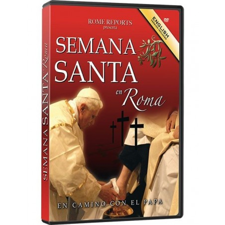 Holy Week in Rome (DVD)