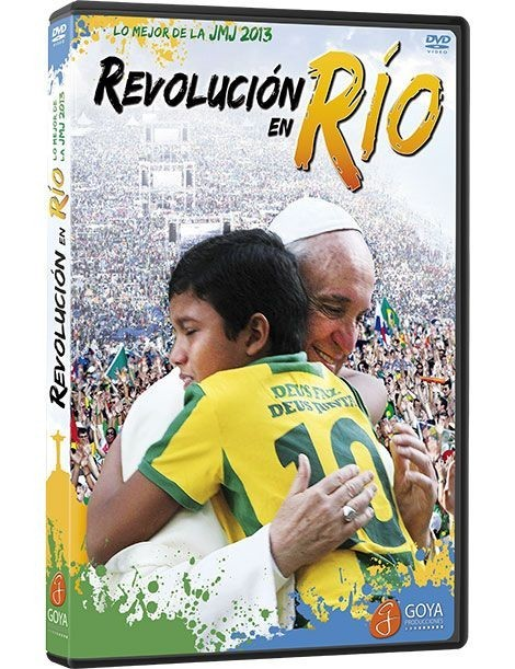 Revolución en Río DVD video lo mejor de la JMJ río 2013
