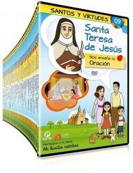 Pack Santos y Virtudes DVD dibujos animados católicos