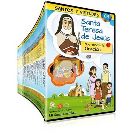 Pack Santos y Virtudes (serie en DVD)