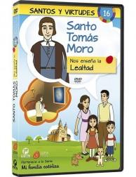 Santo Tomás Moro y la Lealtad DVD dibujos animados católicos
