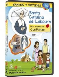 Santa Catalina de Labouré y la Confianza DVD dibujos animados católicos