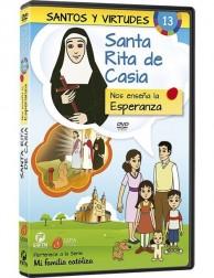 Santa Rita de Casia y la Esperanza DVD dibujos animados católicos
