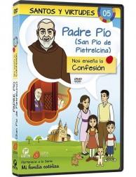 El Padre Pío y la Confesión DVD dibujos animados católicos
