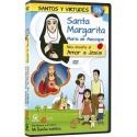Santa Margarita María de Alacoque y el Amor a Jesús DVD dibujos animados católicos