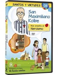 San Maximiliano Kolbe y el Heroismo DVD dibujos animados católicos
