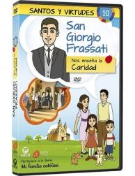 San Giorgio Frassati y la Caridad DVD dibujos animados católicos