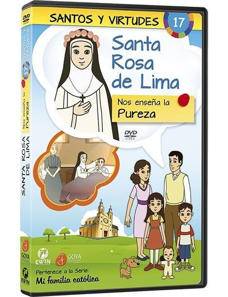 Santa Rosa de Lima y la Pureza DVD dibujos animados católicos