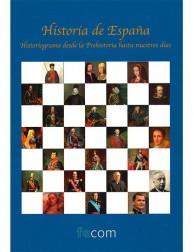 Historia de España, Historiograma desde la Prehistoria hasta nuestros días