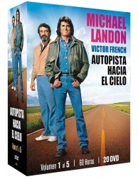 Pack Autopista hacia el cielo (Vol. 1-5) 20 DVDs