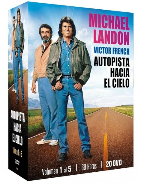 Pack Highway to Heaven (Vol. 1-5) 20 DVDs