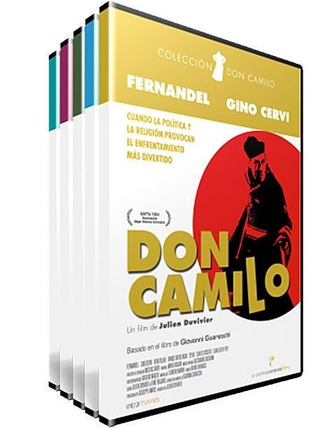 Pack Don Camilo dvd