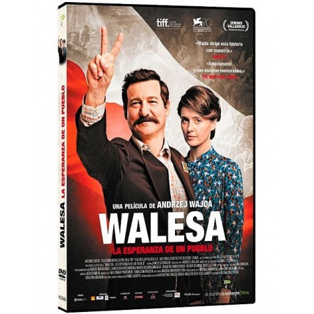Walesa, la esperanza de un pueblo - DVD movie