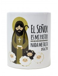 Taza El Señor es mi Pastor, nada me falta
