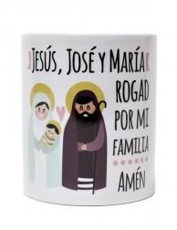 Taza Jesús, José y María