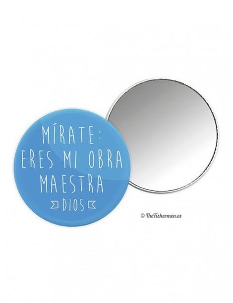 Espejo Mírate: eres mi obra maestra (Dios)