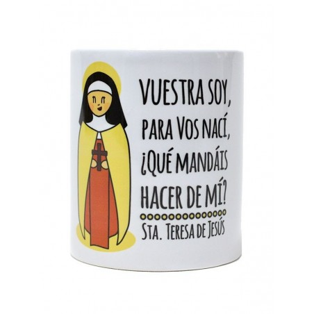 Taza Santa Teresa (Vuestra soy)