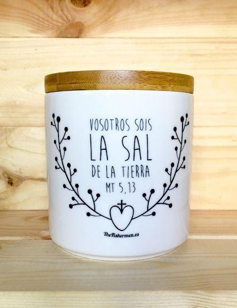 Tarro para la sal - Vosotros sois la sal de la tierra Mt 5,13