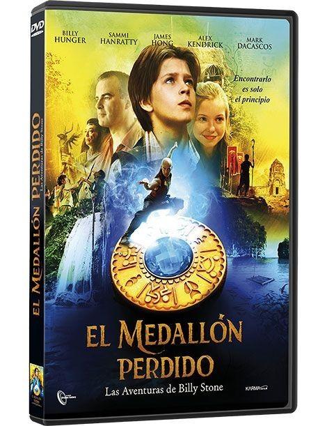 El medallón perdido DVD
